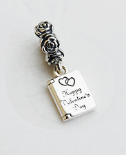 "Genuine Pandora ""Be Mine Valentine's"" Charm - Happy Valentine's Day - 791246"