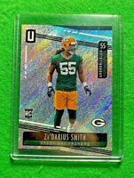 ZA'DARIUS SMITH PRIZM ROOKIE CARD REFRACTOR PACKERS 2019 PANINI UNPARALLELED RC