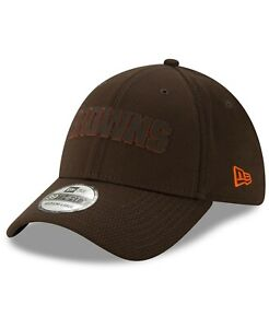 Cleveland Browns Hat New Era 39Thirty 3930 Flex-Fit Size L/XL NFL Brown Out Cap