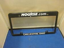NOURSE Dealer License Plate Frame Plastic Black