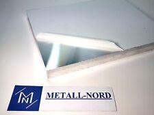 Aluminium Alu Flach 120x10x500mm AlMgSi0,5 AW 6060 Metallhalbzeug F22 CNC