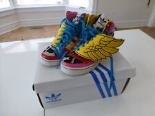 Adidas Originals x Jeremy Scott x 2NE1 JS COLLAGE WINGS High-tops US male size 8