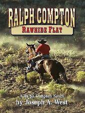 Ralph Compton: Rawhide Flat (Thorndike Western I)-ExLibrary