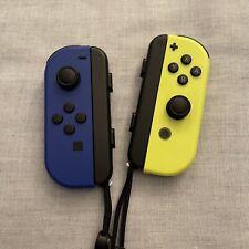 Nintendo Switch Joy Con Pair - Dark Blue And Neon Yellow