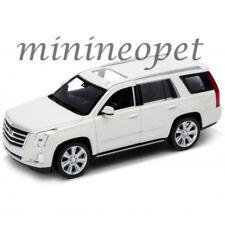 WELLY 24084 2017 CADILLAC ESCALADE SUV 1/24 DIECAST MODEL CAR WHITE