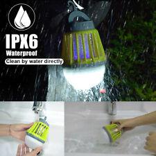 Mosquito Killer Fly Bug Zapper Lantern Lamp Pest Trap Light Led Electric /Solar