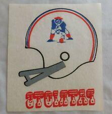Vintage New England Patriots Football Helmet Iron on T-shirt Decal