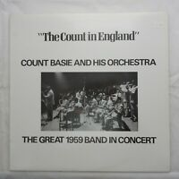 Count Basie - The Count in England - Great 1959 Band in Concert LP vinyl  NM/Ex