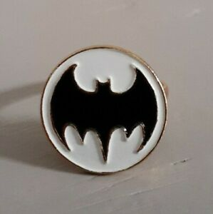 1976 Aviva Batman Brass Ring Rare Very Nice Condition Adjustable
