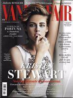 Vanity Fair Magazine Kristen Stewart Juliette Binoche Claudio Bisio Fashion 2014