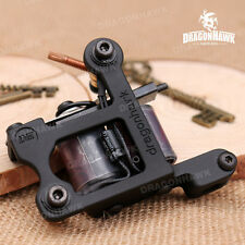 Tattoo supply one pc Zinc Alloy Machine Gun 10 Wrap Coils For Kit Liner WVQ4136