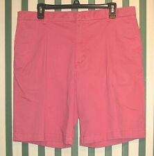 NWT Mens IZOD Saltwater Relaxed Classics Stretch Size 34 Waist Shorts 9.5 Inseam