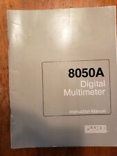 Fluke 8050A Operating And Service manual