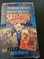 Skeleton Warriors Trading Cards Fleer Factory Sealed 36 Packs 1995 3A28