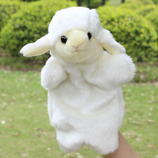 Cute Sheep Hand Puppet Plush Dolls Story Telling Educational Toy Birthday Toys