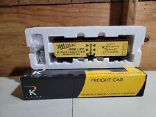 K-Line K742-6401 Miller Woodside Reefer Car LN/Box