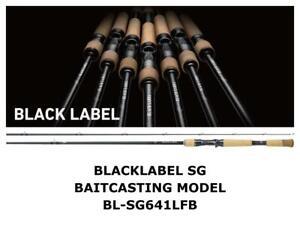 Daiwa Black Label SG Baitcasting Model 641LFB casting rod ship from Japan