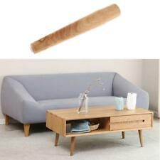 Natural Wood Wooden Furniture Table Legs with Non-slip Pad DIY Craft 30cm