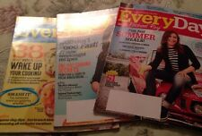 Every Day with Rachael Ray Magazine, 3 Issues from 2015, Excellent Condition!