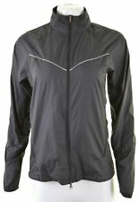 NIKE Womens Tracksuit Top Jacket Size 10 Small Black Polyester  GU18
