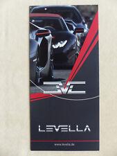 Levella Wheels Schmiederäder Sportabgasanlagen Chip Tuning - Prospekt 2017