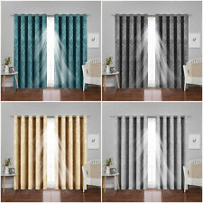 Blackout Curtains Eyelet Ring Top Living Room Bedroom Patio Outdoor Curtains