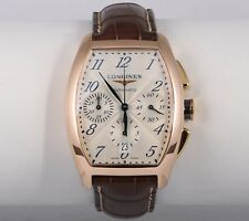 Longines Evidenza L2.643.8 18K Rose Gold Chronograph Automatic Mens Watch