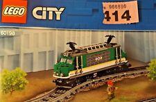 CARGO  LOCOMOTIVE body only  -new - Lego train - REF 414 60198