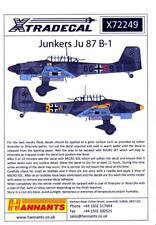 Xtra Decals 1/72 JUNKERS Ju-87B-1 STUKA German WWII Dive Bomber