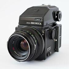 Zenza Bronica ETRS + AE II Prism Finder + Zenzanon  75mm f:2.8 645 Kamera