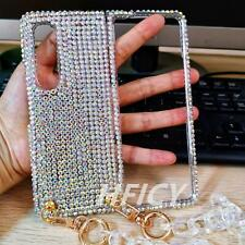 For Samsung Galaxy Z Fold 2 5G/Galaxy Z Fold 3 5G Case Bling Sparkly Phone Cover