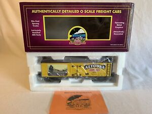 MTH Premier 20-94314 Altoona 36 Lager 36' Wood Beer Reefer #360242 O Gauge NEW
