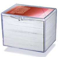(Lot of 10) Ultra Pro 150-Card Hinged Plastic Boxes Holders For Trading Cards
