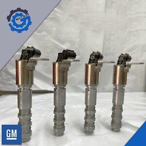 4 NEW GM OEM  Engine Variable Timing Solenoid Pressure Valve 12636175
