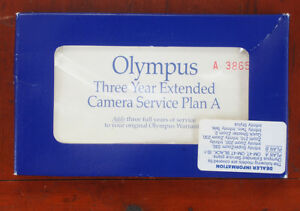 OLYMPUS EXTENDED WARRANTY PLAN A, FOR OM-4T, IS-1 (INVALID)/178603