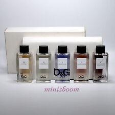 DOLCE GABBANA ANTHOLOGY COLLECTION Set of 5 Travel Size Fragrances EDT 5 X 20 ml