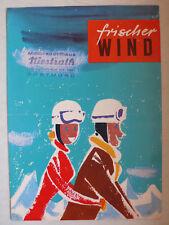 Prospekt Zündapp 175 S, 201 S, 250 S, Bella 150/200 ccm, ca.1956, 4 Seiten