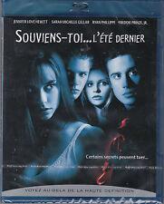 DVD BLU RAY SOUVIENS-TOI L'ÉTÉ DERNIER JENNIFER LOVE HEWITT NEUF SCELLE