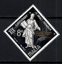(Ref-9109) Malta 1960 Shipwreck of St.Paul 8d Black & Gold  SG.298 Mint (MNH)
