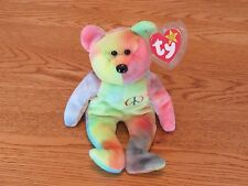 "NEW TY Beanie Baby - ""Peace"" The Bear - 1996 - Retired"