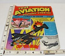 TRUE AVIATION 1944 VOL. 1 NO. 9 WAR STORIES LUCKY SEVEN GOLDEN AGE PARENTS MAG.