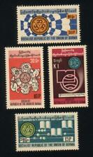 Burma STAMP 1976 ISSUED  LITERACY DAYS COMPLETE SET,MNH,  RARE