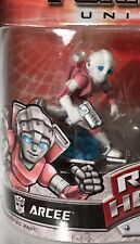 Transformers Robot Heroes G1 Arcee Mini Figure Pink Autobot Rare New Loose PVC