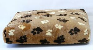"""Dog Bed, Faux Fur 8"""" Deep, Extra Large, Removable inner, 3 sizes, 3 colours"""