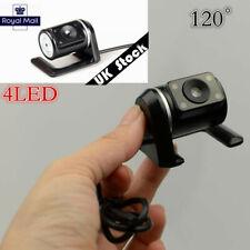 Autos Night Vision Rear View Reversing Backup Camera 120 ° Parking Waterproof UK