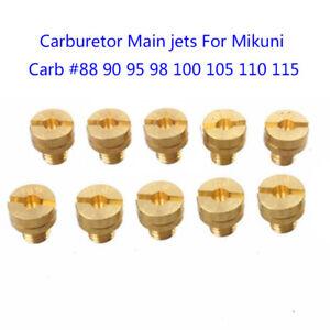 1*Main Jets Set(10pcs)  For Mikuni VM22-24-26-30 Carburetor 125cc150cc200cc250cc