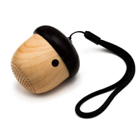 JSAUX Portable Mini Wireless Nut Speaker with Enhanced Bass and Built-in Mic and