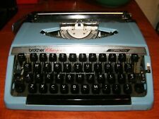 Vintage 1970's Brother Charger 11 Typewriter with Case