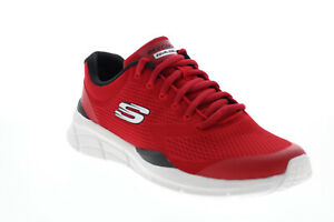 Skechers Equalizer 4.0 Generation 232022 Mens Red Lifestyle Sneakers Shoes