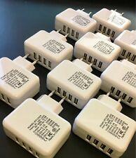 EF 10x 4er Multi USB Hub Ladegerät Netzteil Adapter Universal für Handy Tablet U